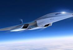 Virgin Galactic revela el diseño de su aeronave supersónica al estilo Concorde