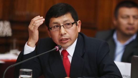 Ministro de Transportes y Comunicaciones, Edmer Trujillo, acudió a la Comisión de Defensa del Consumidor del Congreso.(Foto: Andina)