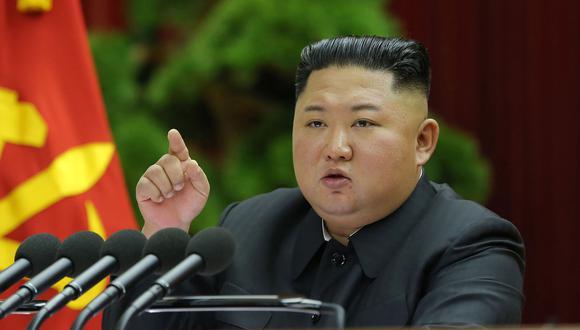 El líder de Corea del Norte, Kim Jong-un, ha tomado medidas extraordinarias contra el Coronavirus. (AFP).