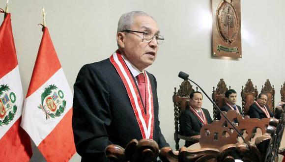 El fiscal de la Nación, Pedro Chávarry, y sus versiones ante la difusión de audios que lo involucran. (Foto: Ministerio Público)