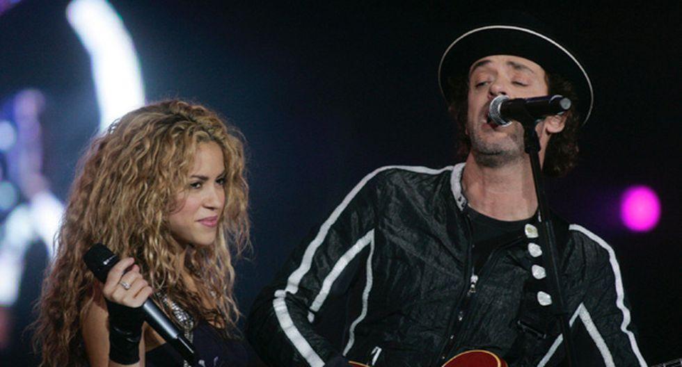 "Shakira a Gustavo Cerati: ""Te quiero, amigo"""