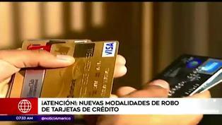 Policía alerta sobre nueva modalidad de robo de tarjetas de crédito