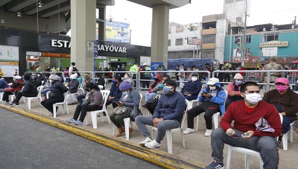 La cantidad de casos confirmados de coronavirus aumentó en las últimas horas, informó el Minsa. (Foto: Violeta Ayasta / @photo.gec)