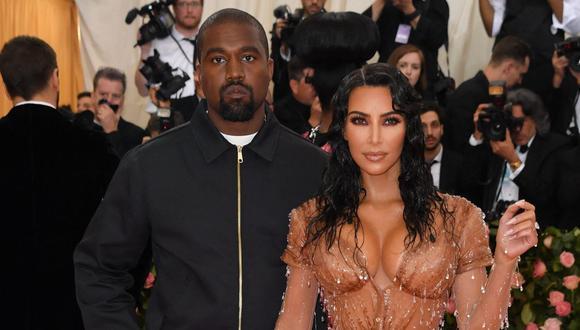 Kim Kardashian hizo oficial la solicitud de divorcio a Kanye West el pasado 19 de febrero. (Foto: AFP)