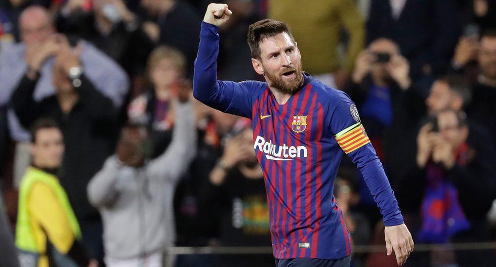 Lionel Messi lleva 12 goles en esta Champions League en la que es el máximo goleador. (Foto: AP)