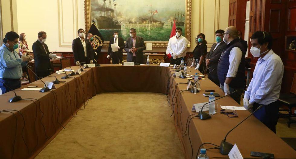 La Junta de Portavoces se reúne este martes en medio de medidas de seguridad. (Foto: Congreso de la República)