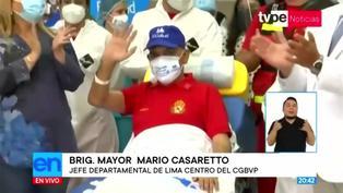 Mario Casaretto fue dado de alta tras 45 días en UCI por COVID-19