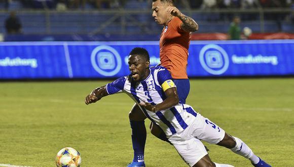 Honduras le volvió el partido a los chilenos.   AFP