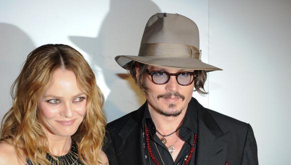 Vanessa Paradis y Johnny Depp (Foto: AFP)