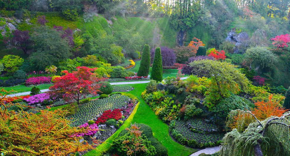 Estos hermosos jardines parecen de un cuento de hadas - 2
