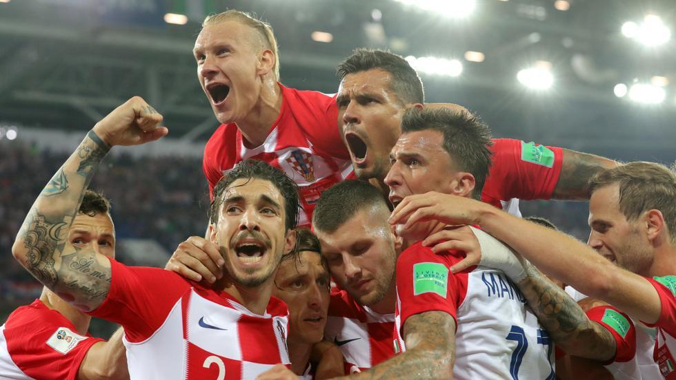 Selección de Croacia. (Foto: AFP)