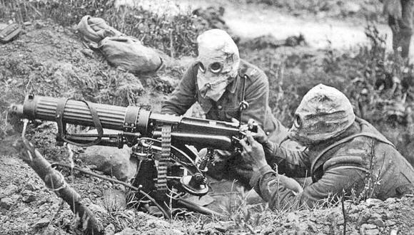 La Primera Guerra Mundial tuvo lugar entre 1914 y 1918.