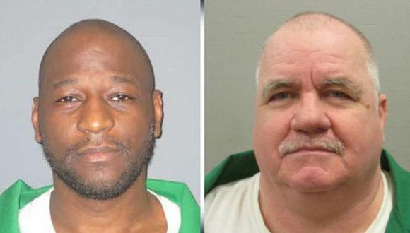 Freddie Owens (izquierda) y Brad Sigmon (derecha) debían ser ejecutados en junio. (Foto: DEPARTAMENTO DE CORRECCIONES DE CAROLINA DEL SUR).