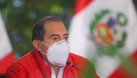 El primer ministro, Walter Martos, se pronunció en contra del nuevo intento de vacancia presidencial. (Foto: Presidencia)