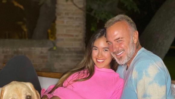 El empresario Gianluca Vacchi y la modelo Sharon Fonseca anunciaron el nacimiento de su hija. (Foto: @gianlucavacchi).