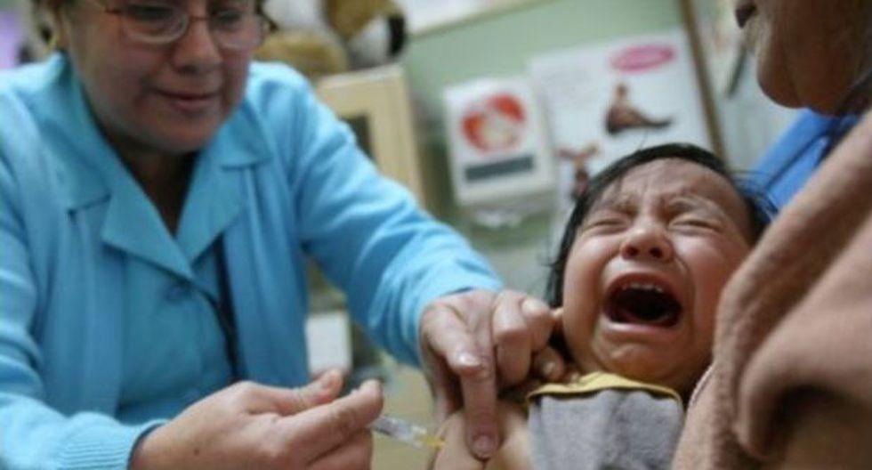 Sarampión: vacunación desde este lunes en Lima, Callao y Cusco