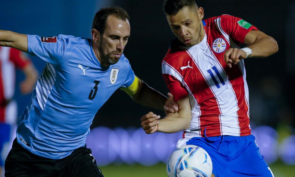 Uruguay vs. Paraguay por Eliminatorias Qatar 2022 Fuente: AFP