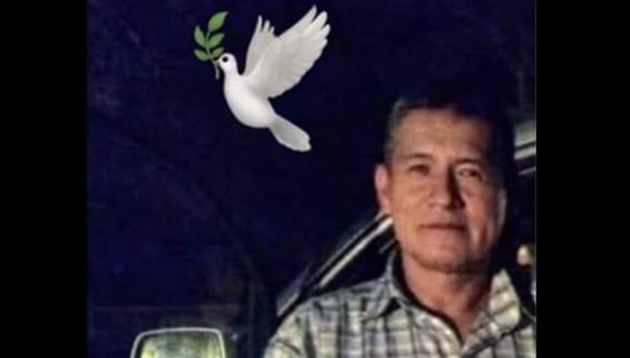 Vilverto García Paúcar es recordado por su familia. (Foto: Cortesía).