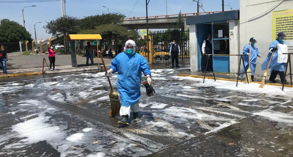 Arequipa: desinfectan hospital Honorio Delgado tras atender a ...
