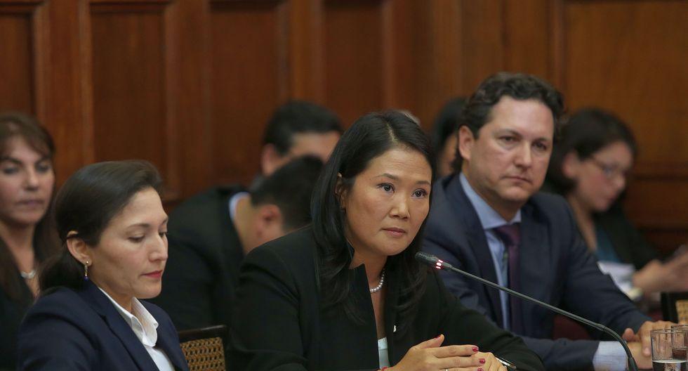 """Keiko Fujimori aseguró que el sistema de administración de justicia requiere de """"una reforma estructural"""", pero con una auténtica """"voluntad democrática"""" y """"un sincero compromiso con la institucionalidad"""". (Foto: Archivo El Comercio)"""