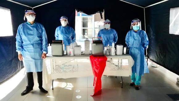 Lambayeque: capacitaron a 350 personal de salud para realizar vacunación contra el COVID-19 (Foto: Gore Lambayeque)