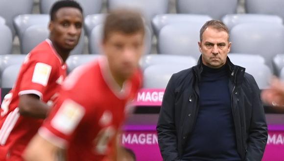 Hansi Flick habló sobre el favoritismo del Bayern Múnich en la nueva edición de la Champions League   Foto: EFE