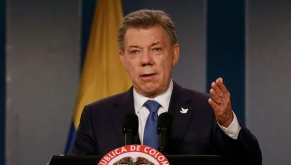 """Santos pide """"buena voluntad"""" para continuar proceso de paz"""