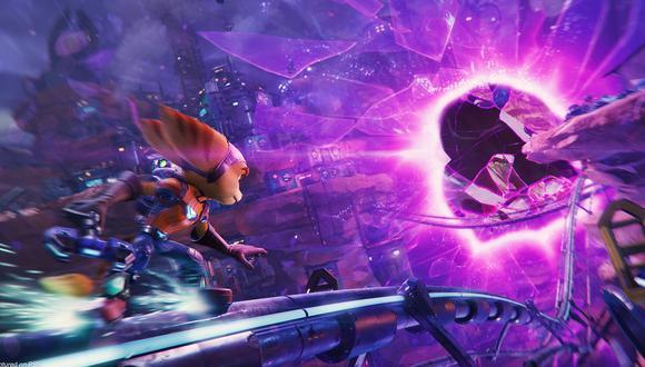 Ratchet & Clank: Rift Apart. (Difusión)