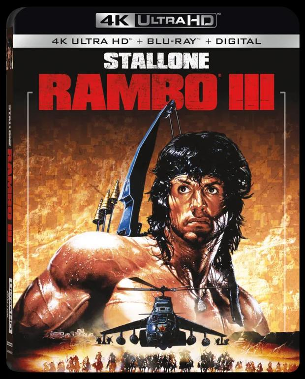 """""""Rambo III"""" It is set in the war waged by Afghan militants against the Soviet invasion, with US support.  (Photo: IMDB)."""
