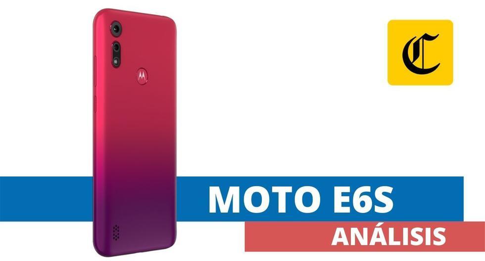 El Moto E6s es el smartphone con el que Motorola quiere conquistar el segmento de entrada.  (El Comercio)