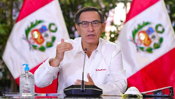 Martín Vizcarra, presidente de la República. (Foto: GEC)