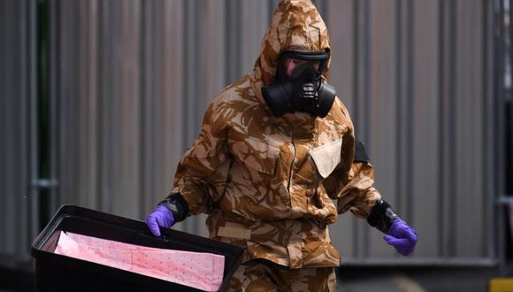 El agente Novichok que envenenó a pareja estaba en un frasco de perfume. (Foto: AFP)