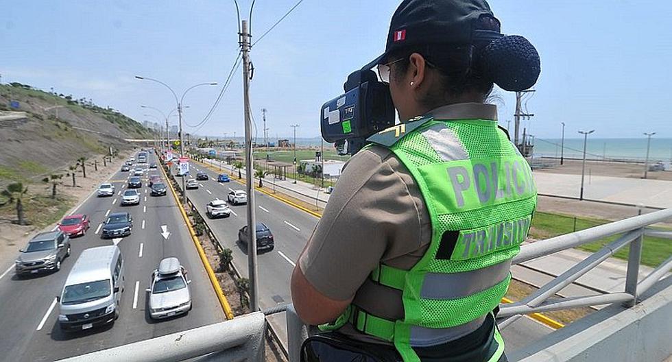 MTC contempla disminuir los límites máximos de velocidad permitidos en calles y avenidas de zonas urbanas, quedando establecidos, en 30 km/h y 50 km/h, respectivamente. (Foto: Archivo)