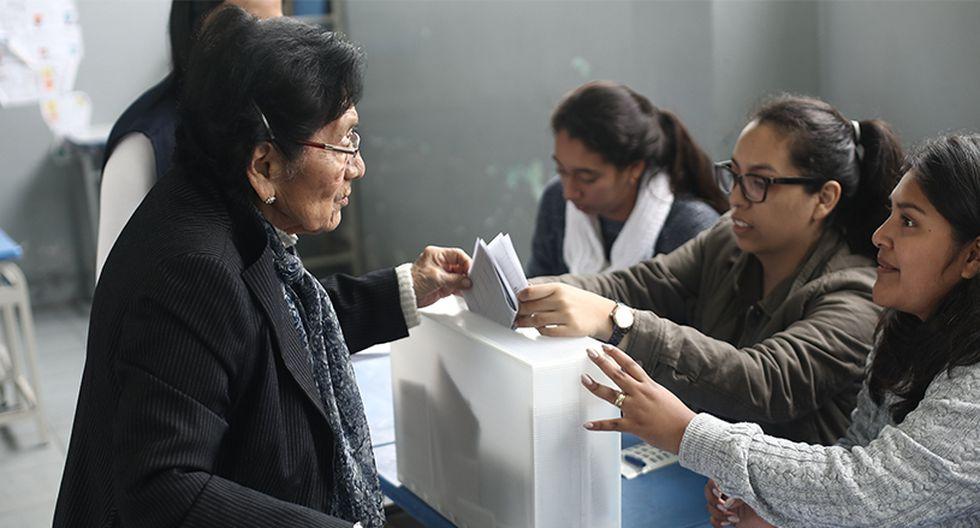 Ministerio de Trabajo otorga facilidades para miembros de mesa y electores