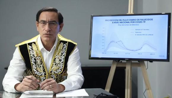 Martín Vizcarra fue excluido por el JEE y está a la espera de la decisión del JNE respecto a su apelación.