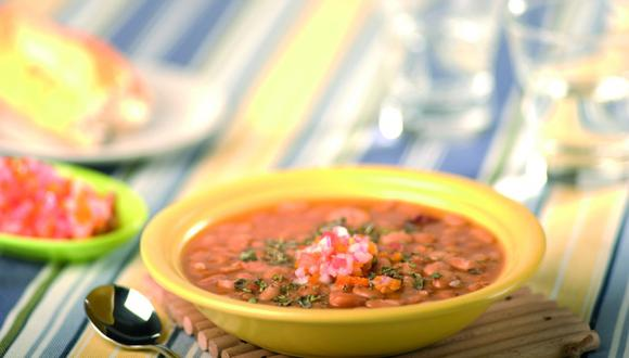 Sopa de frejoles