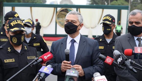 El ministro del Interior, José Elice, podría ser interpelado por el Congreso (Foto: GEC)