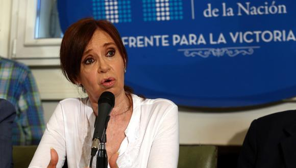El juez federal Claudio Bonadio presentará en los próximos días un pedido de desafuero contra la expresidenta de Argentina y actual senadora Cristina Kirchner. (Archivo Reuters)