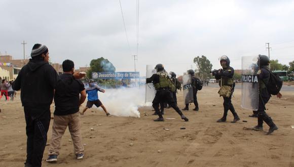Agrupación de Somos Perú exigió al Gobierno dar respuesta por muertes registradas en La Libertad | Foto: GEC / Referencial