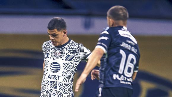 América, con Pedro Aquino, venció 2-1 a Necaxa por la Liga MX 2021