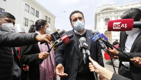 Mariano Yupanqui asumirá la presidencia de la Comisión de Ética tras la renuncia de Cesar Gonzales a Somos Perú. (Foto: GEC)