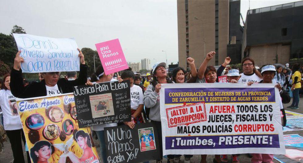 #NiUnaMenos: imágenes de la concentración pre marcha [FOTOS] - 18