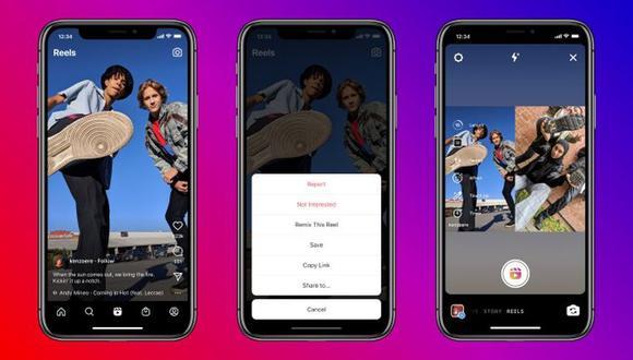 Instagram acaba de añadir una nueva función dentro de los Reels. (Imagen: Instagram)