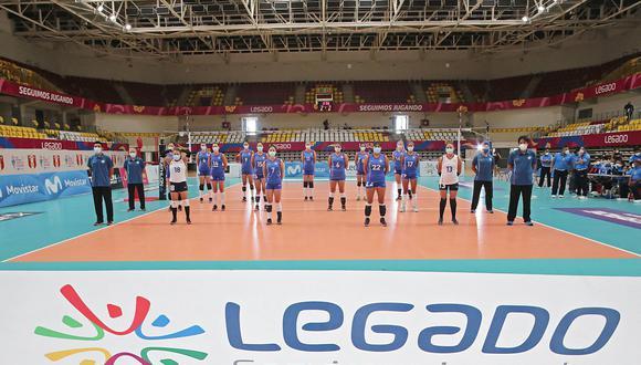 Liga Nacional de Vóley volvió al ruedo en el Polideportivo de Villa El Salvador | Foto: Lima 2019