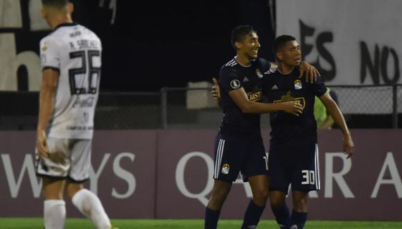 Sporting Cristal venció 1-0 en cancha del ya clasificado Olimpia por el Grupo C de la  Copa Libertadores 2019. (Foto: AFP)