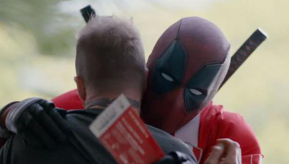 Deadpool abrazando al Spice Boy. (Foto: Facebook)