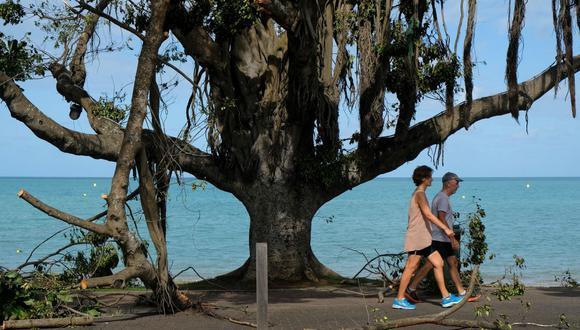 Nueva Caledonia ordenó confinamiento de dos semanas tras detectar sus primeros casos de coronavirus. (Theo Rouby / AFP).