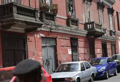 Cercado de Lima: se han identificado 1.500 casonas en riesgo de derrumbe