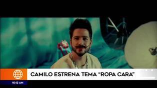 """Camilo presenta videoclip de su nuevo tema """"Ropa cara"""",  producido por su esposa Evaluna"""