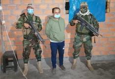 """Gregorio Santos durante su detención: """"Sí, soy yo. Estoy pedido"""""""